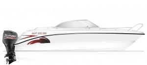 AMT 200BR skiss Suzuki Edition